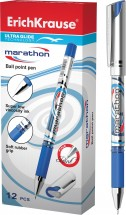 "Ручка шариковая Ultra Glide Technology  ""MARATHON"" blue"